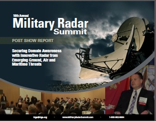 Military Radar Post Show Report