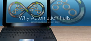 Why automation fails: Q&A with Cortex's Jonathan Hobday