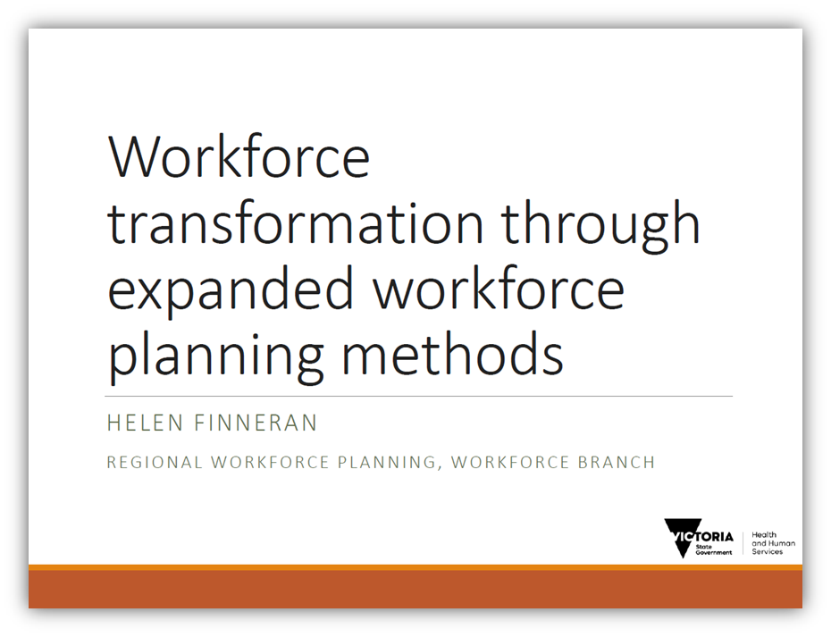 Workforce transformation through expanded workforce planning methods