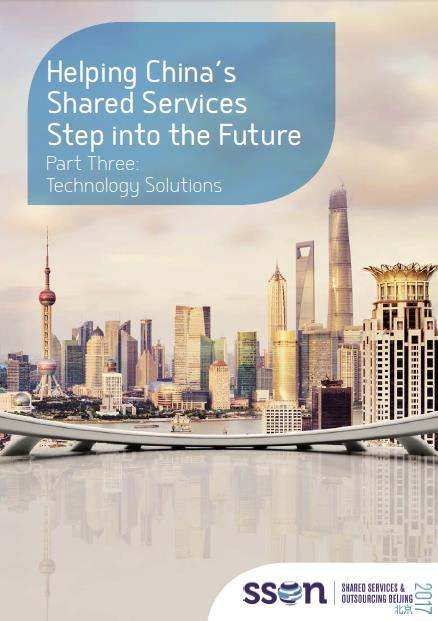 Helping China's Shared Services Sector Step into the Future: Part 3