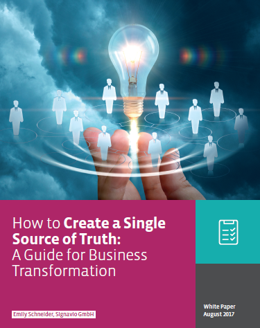 Signavio: How to Create a Single Source of Truth - A Guide for Business Transformation