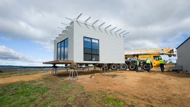 As land prices grow, developers and contractors turn to prefabricated construction techniques