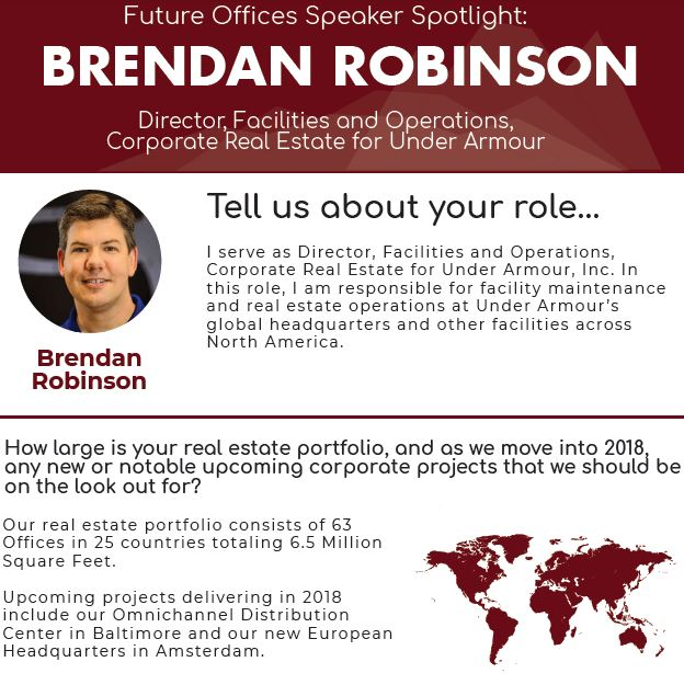Speaker Spotlight on Brendan Robinson from Under Armour