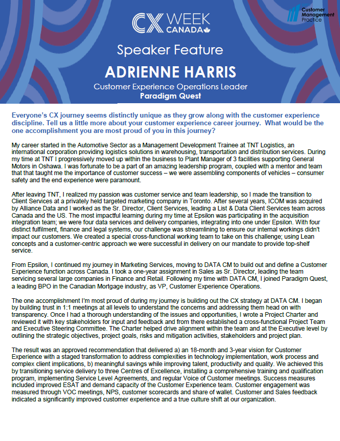 Speaker Feature: Adrienne Harris