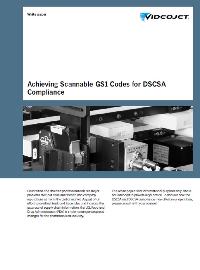 Achieving Scannable GS1 Codes for DSCSA Compliance
