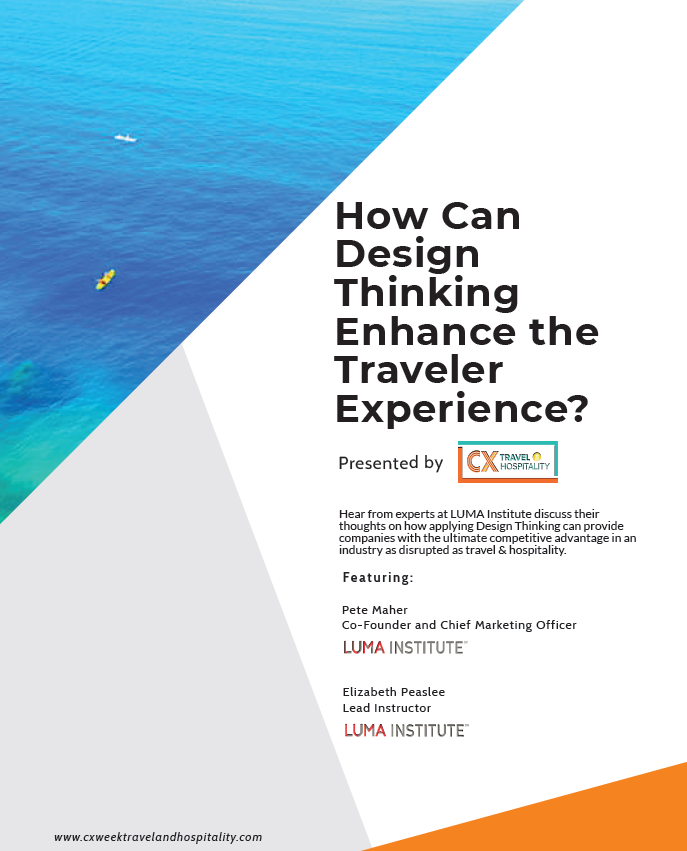 How Can Design Thinking Enhance the Traveler Experience?