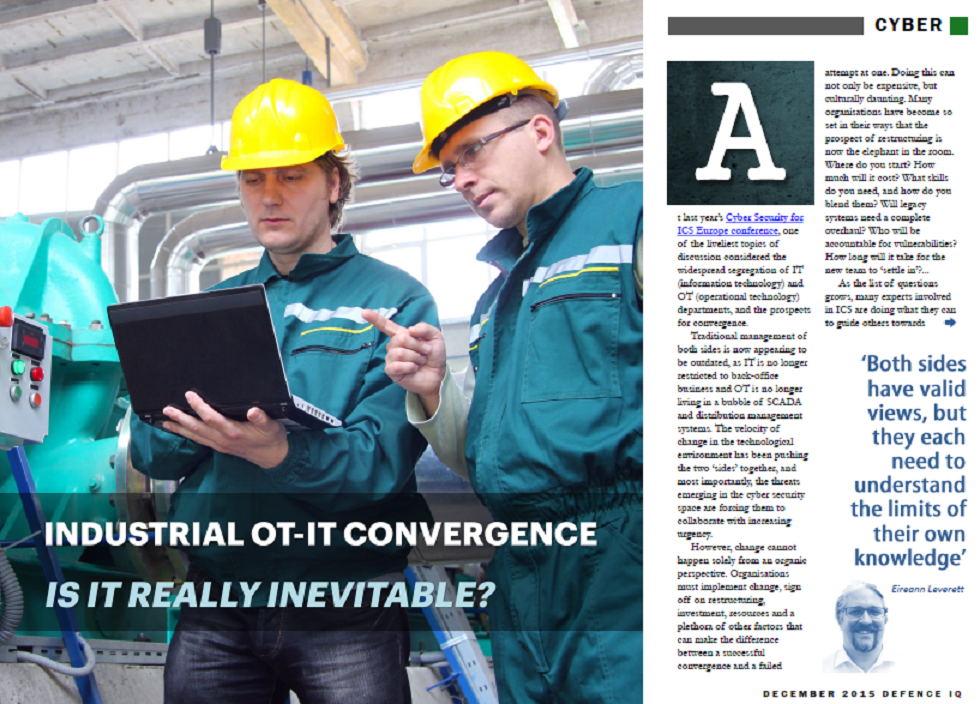 OT-IT Convergence: Is it Really Inevitable?