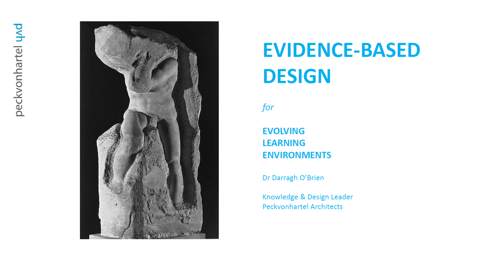Evidence-based design for evolving learning environments