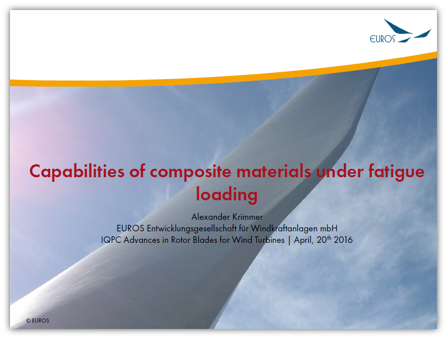Capabilities of composite materials under fatigue loading