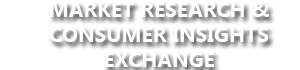Market Research & Consumer Insights Exchange - May 2017