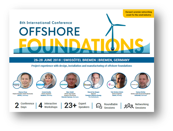 Offshore Foundations 2018 Agenda