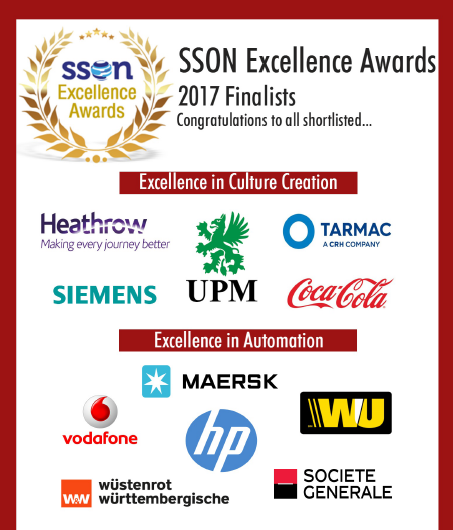 2017 Excellence Awards Finalists
