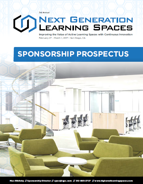 2017 Next Generation Learning Spaces Sponsorship Prospectus