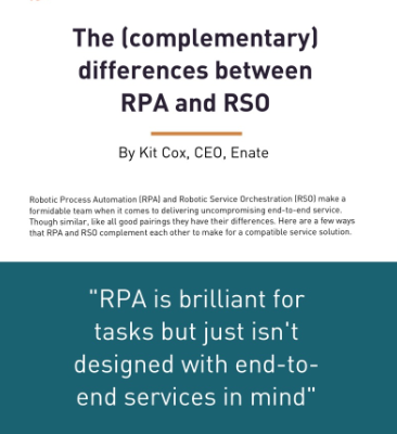 The (complimentary) differences between RPA and RSO