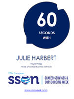 60 Seconds with Julie Harbert | Shared Services and Outsourcing Week
