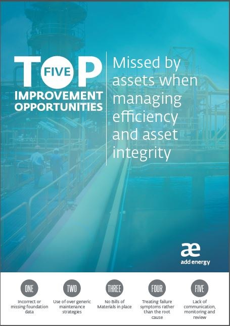 The top 5 Reasons why Assets Fail