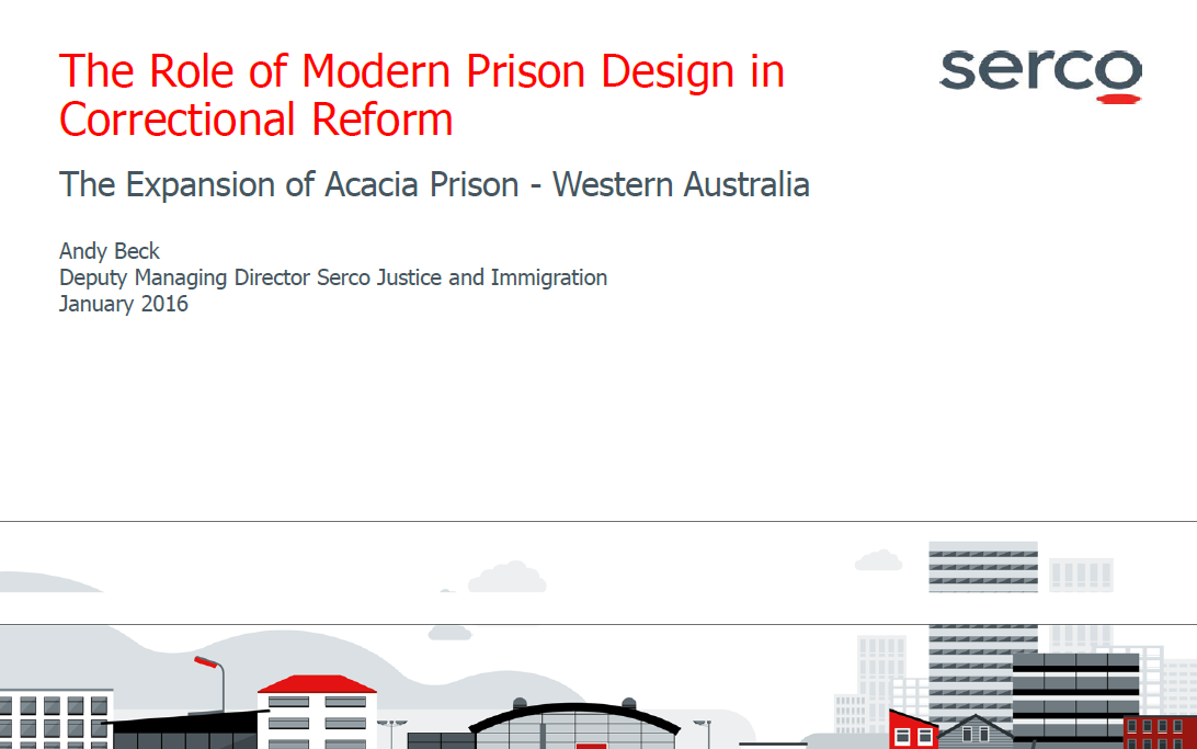 The Role of Modern Facility Design in Correctional Reform