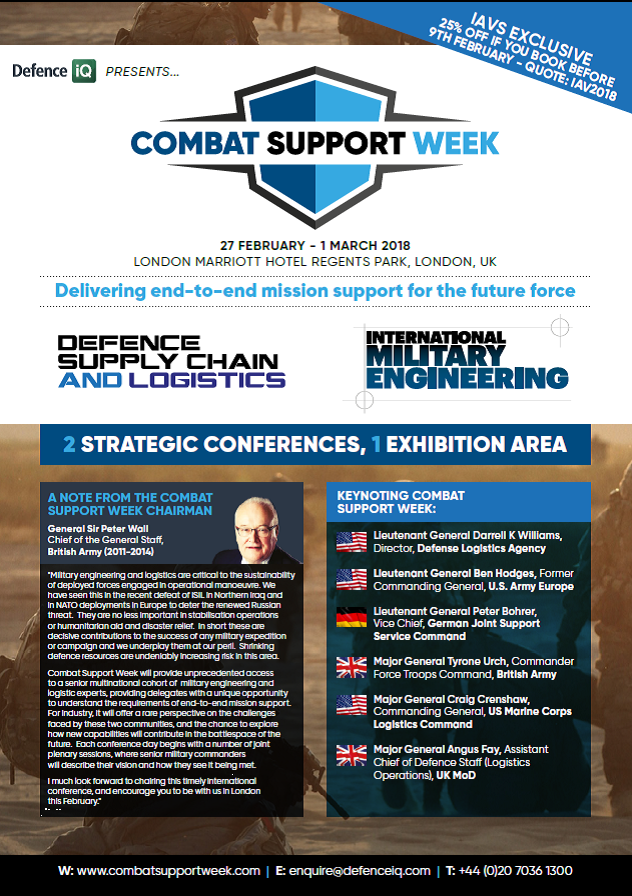 Download the Combat Support Week Brochure