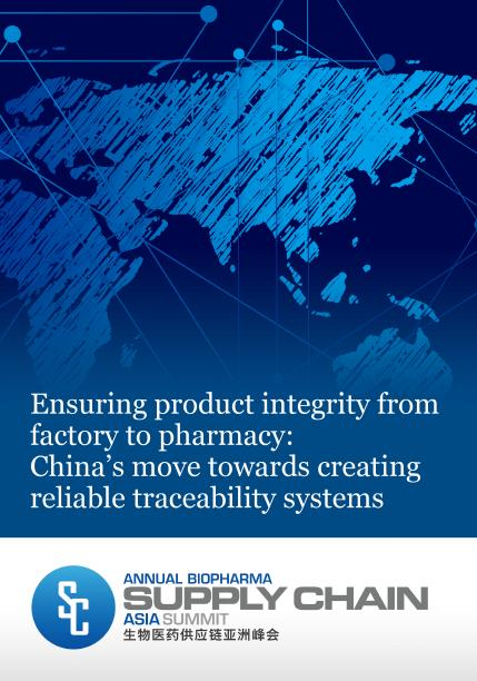 Ensuring product integrity from factory to pharmacy: China's move towards creating reliable traceability systems
