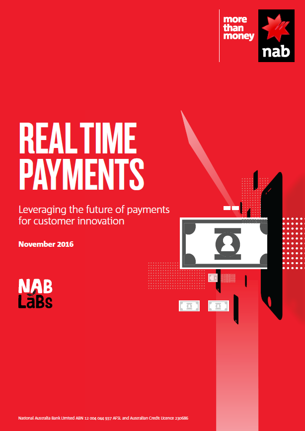 Real-time payements: leveraging the future of payments for customer innovation