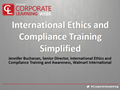 International Ethics and Compliance Training Simplified