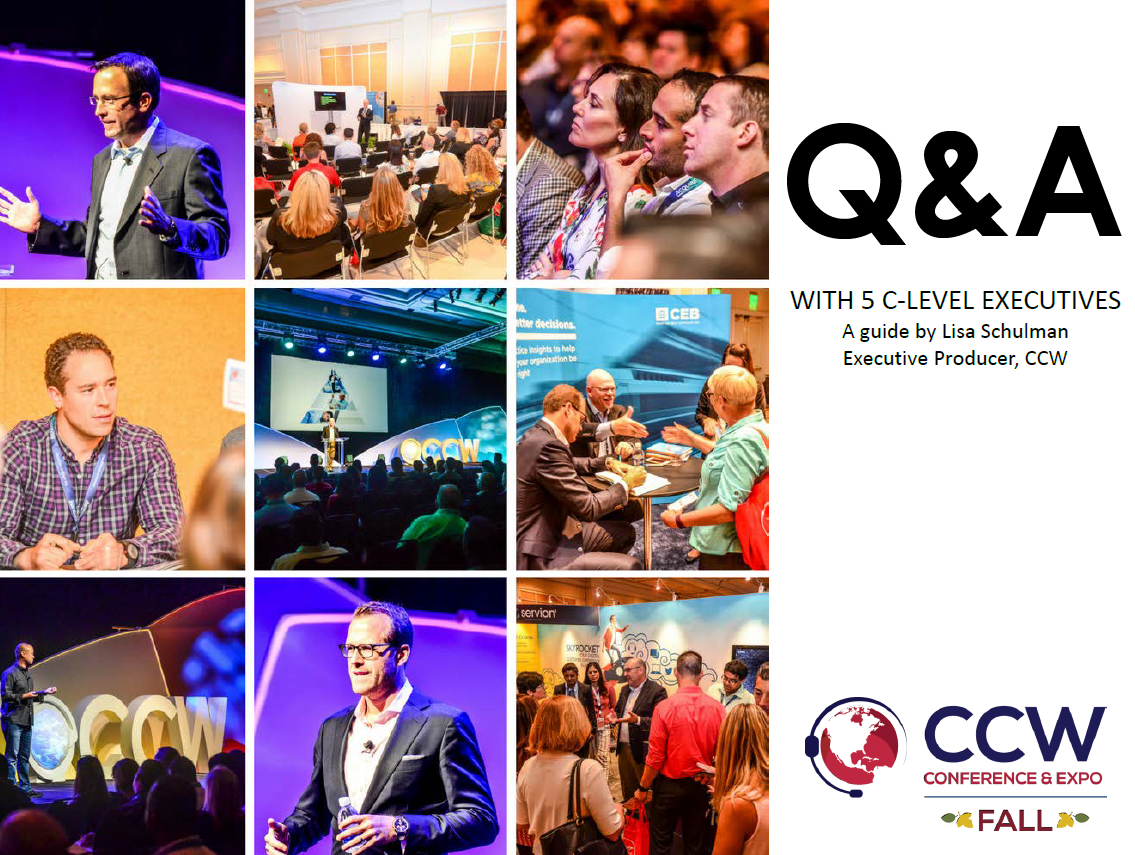 Q&A with C-Suite Executives