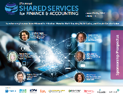 18th Annual Shared Services for Finance & Accounting Sponsorship Prospectus