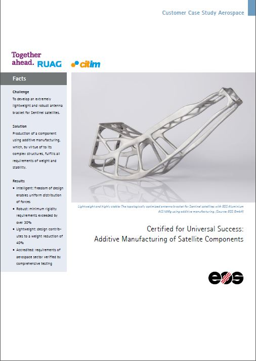 EOS Customer Case study Aerospace RUAG-citim