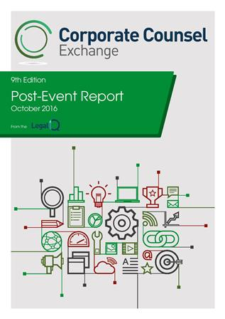 Corporate Counsel Exchange October 2016 Post Event Report