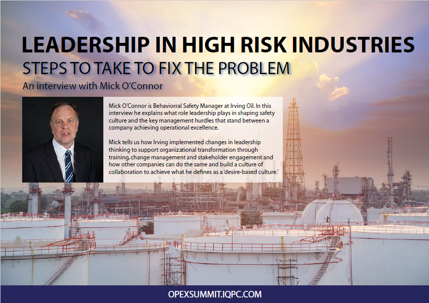 BEHAVIOURAL LEADERSHIP IN HAZARDOUS INDUSTRIES