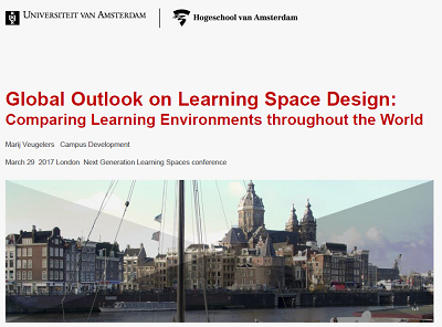 Global Outlook on Learning Space Design: Comparing Learning Environments throughout the World