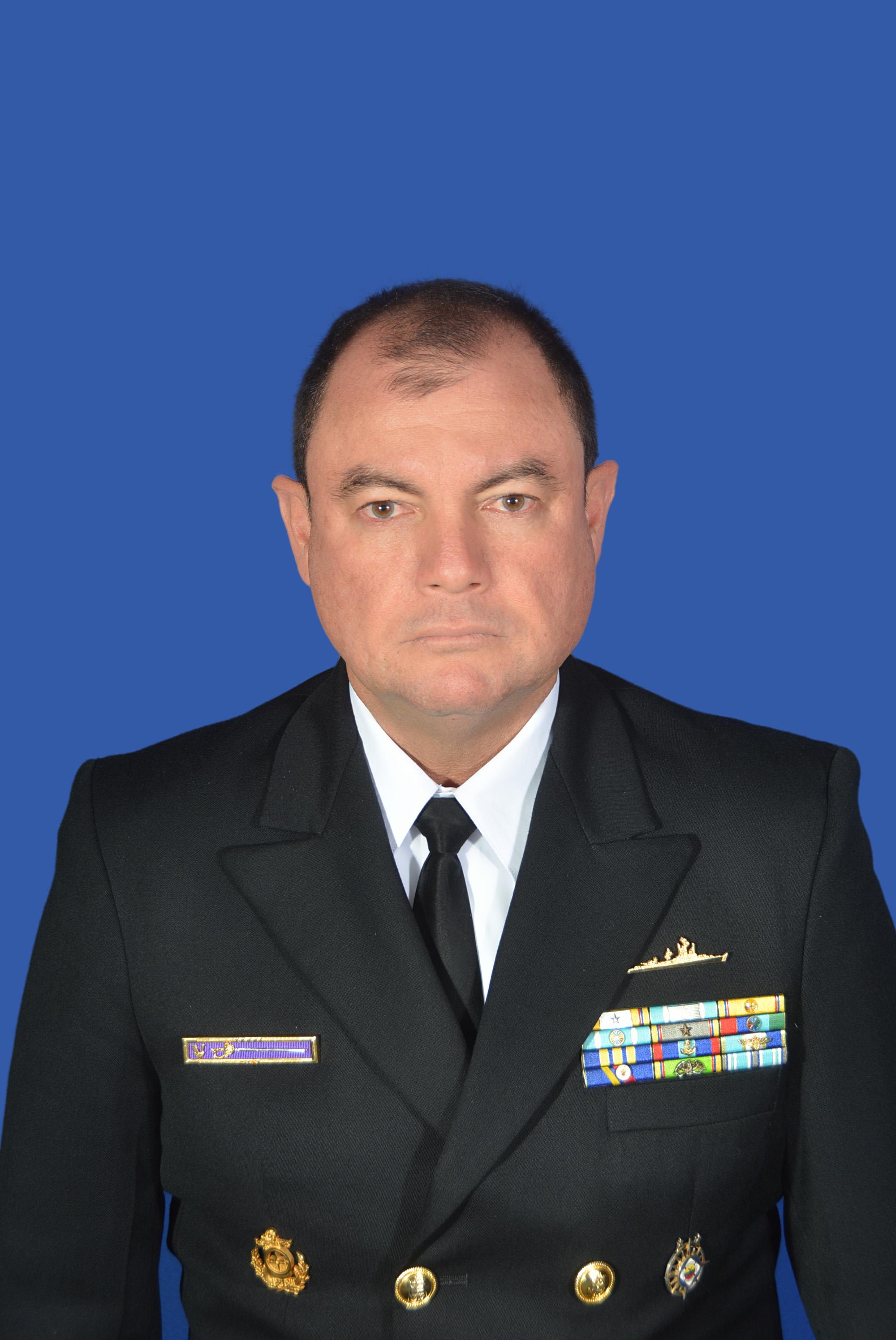 Captain Orlando Grisales