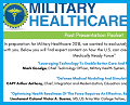 Military Healthcare Past Presentations