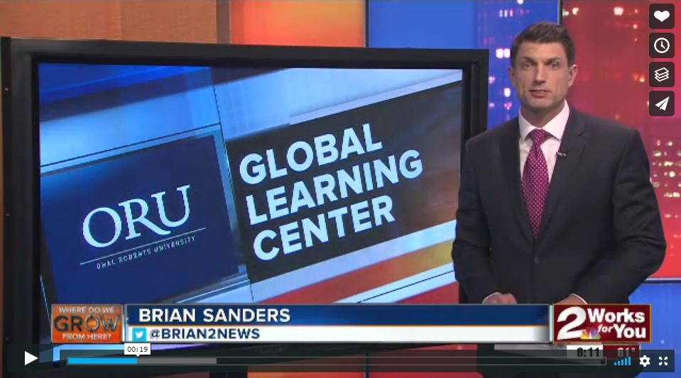 Virtual Reality Improving Grades Featuring ORU's Global Learning Center