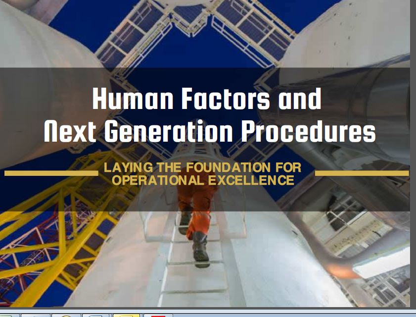 Human Factors and Next Generation Procedures