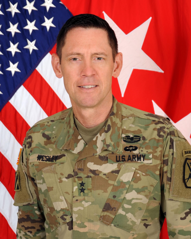 Major General Eric  J. Wesley