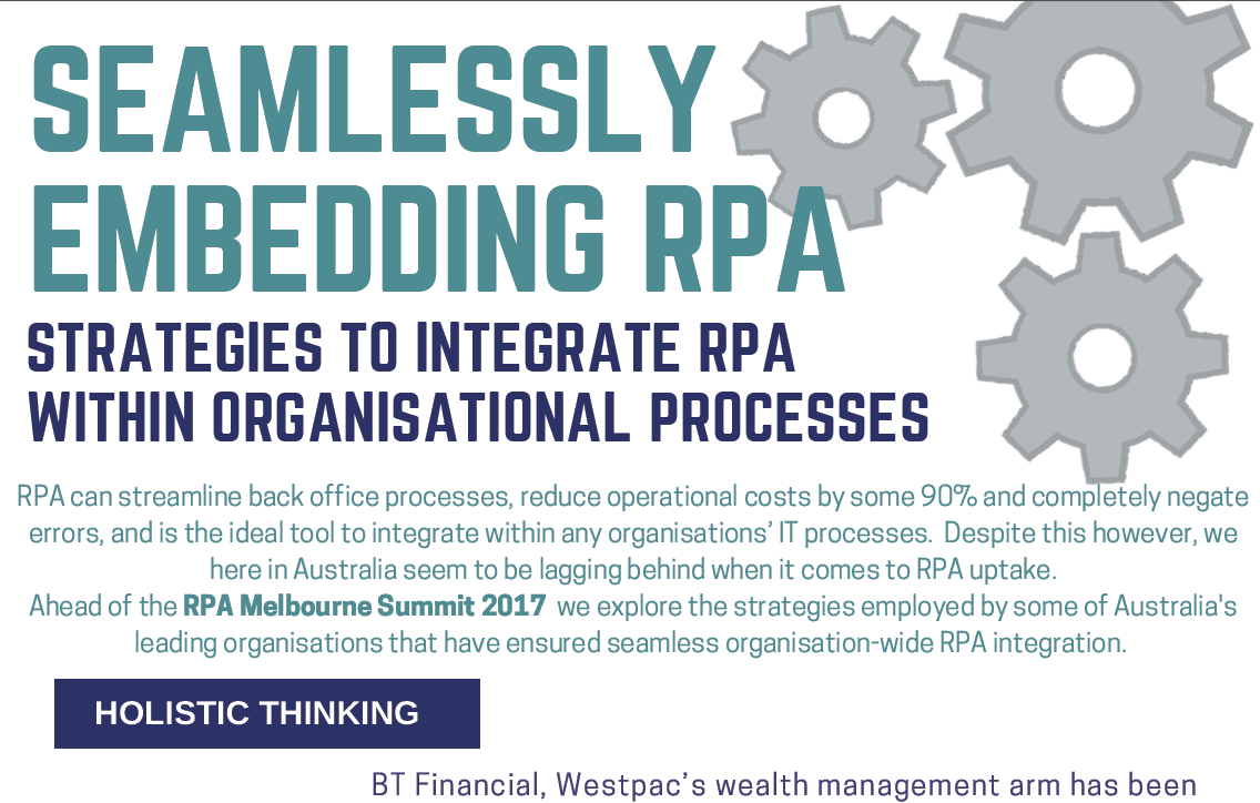 Strategies to Integrate RPA In Organisational Processes