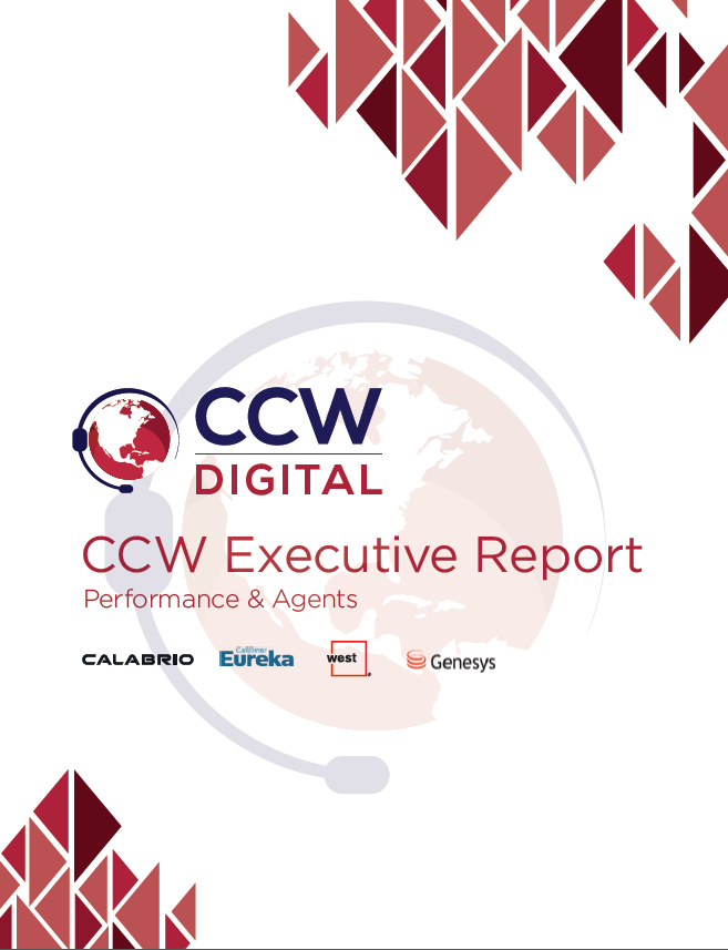 CCW Executive Report - Part 2: Performance & Agents