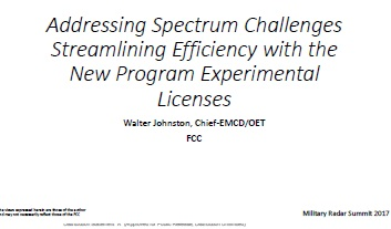 Addressing Spectrum Challenges