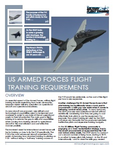 U.S. Armed Forces Flight Training Requirements