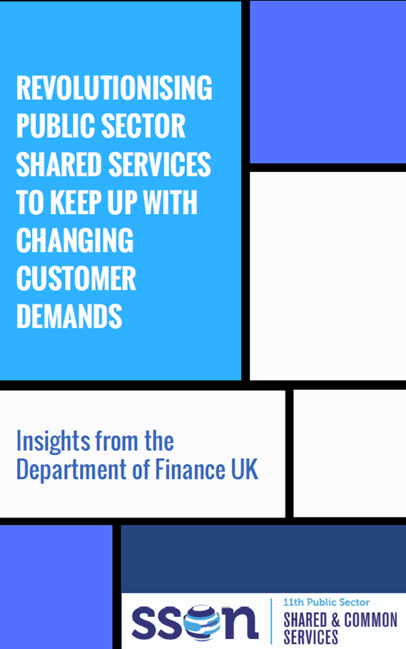 Revolutionising public sector shared services to keep up with changing customer demands