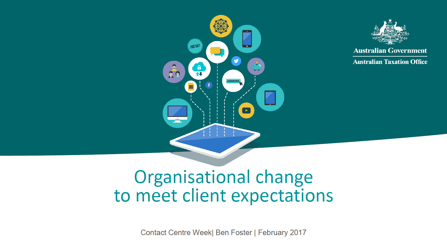 Organisational change to meet client expectations