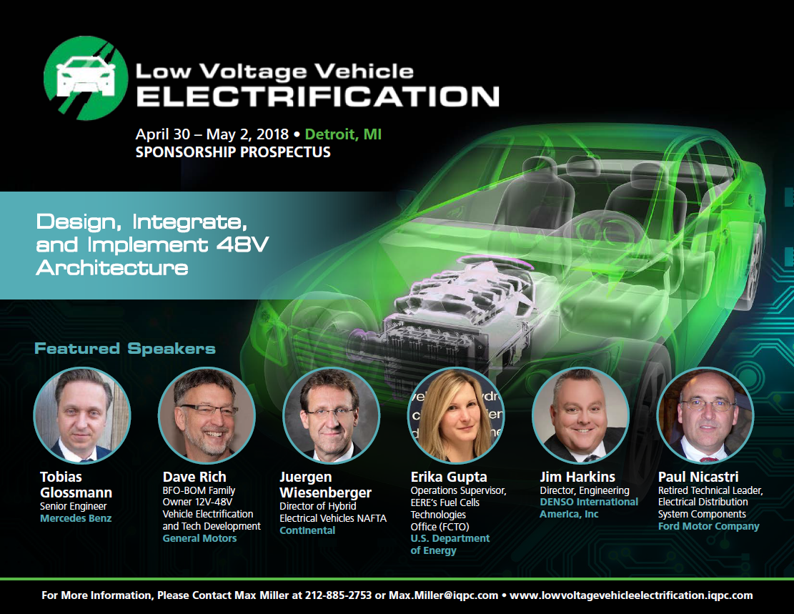 Low Voltage Electrification Summit - Sponsorship Prospectus