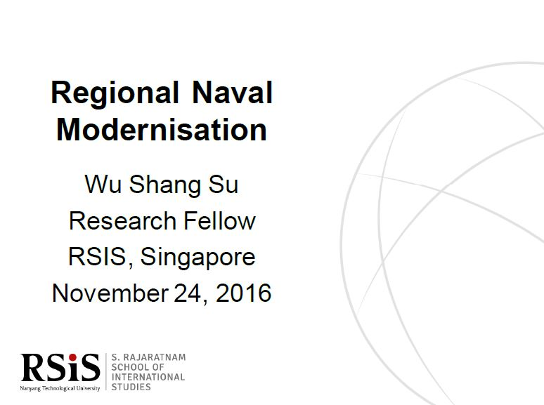 Regional Naval Modernisation