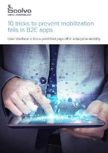 10 tricks to prevent mobilisation fails in B2E apps
