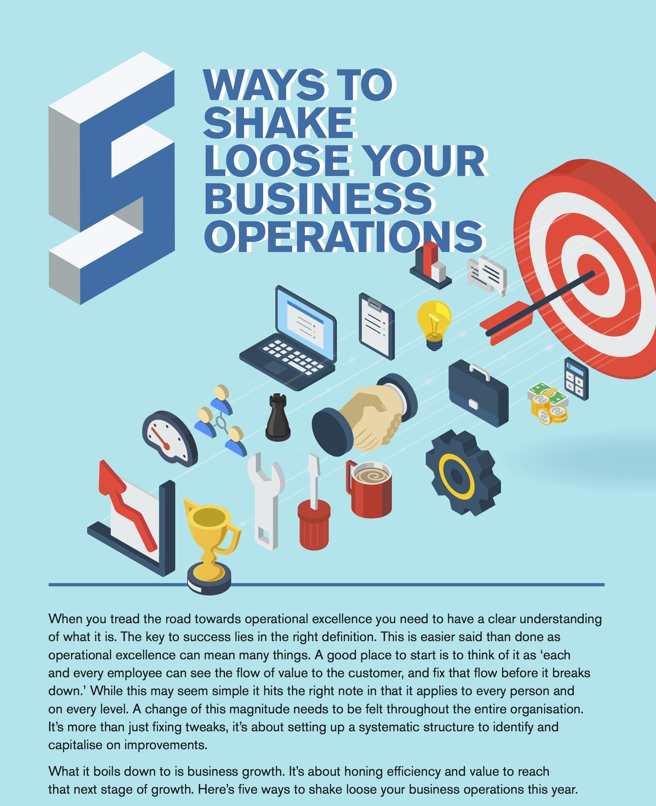 Five Ways You Can Shake Loose Your Business Operations