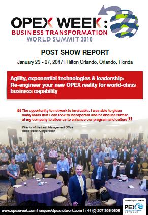 OpEx Week Post Show report