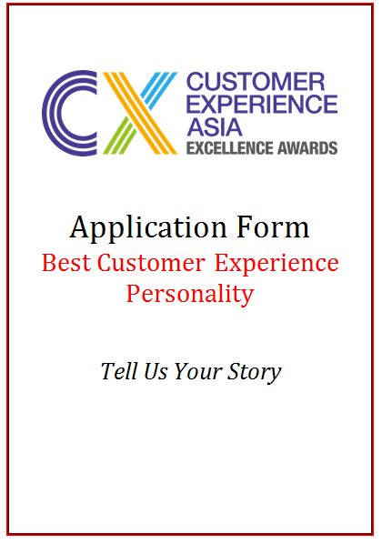CEM Award Application Form - Best CX Personality