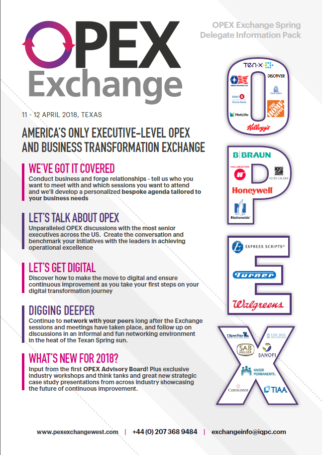 OPEX Exchange Delegate Information Pack