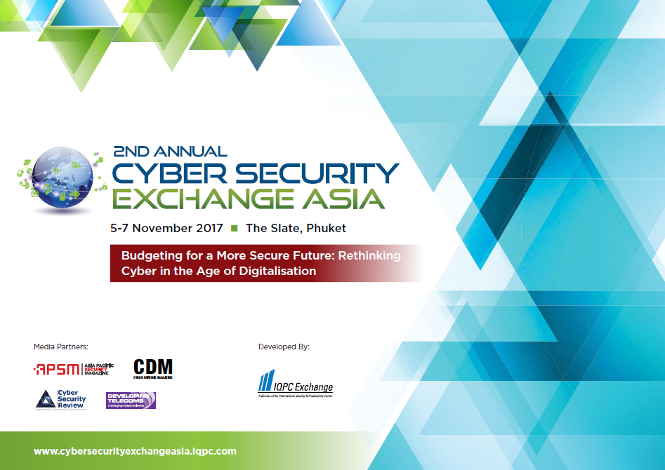 Cyber Security Exchange 2017 Delegate Pack